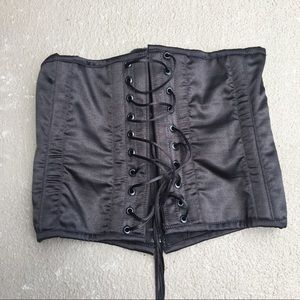 Other - Black Lace Up Sexy Corset